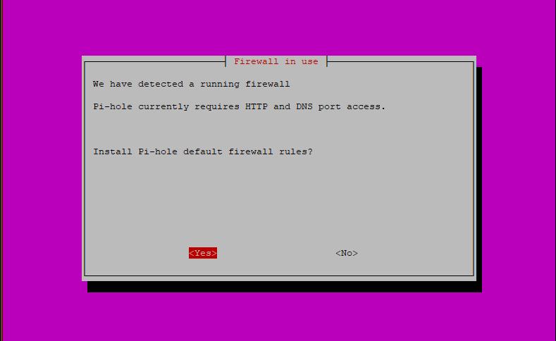 Step 14: Pi-hole Installation Script