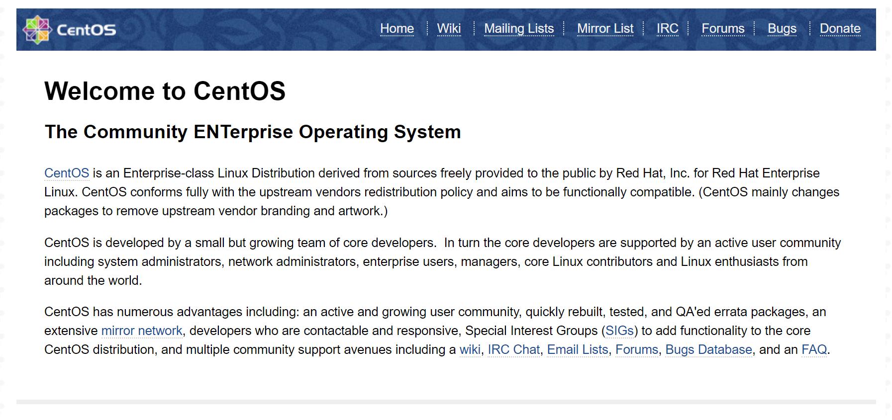 CentOS 7 Nginx Default