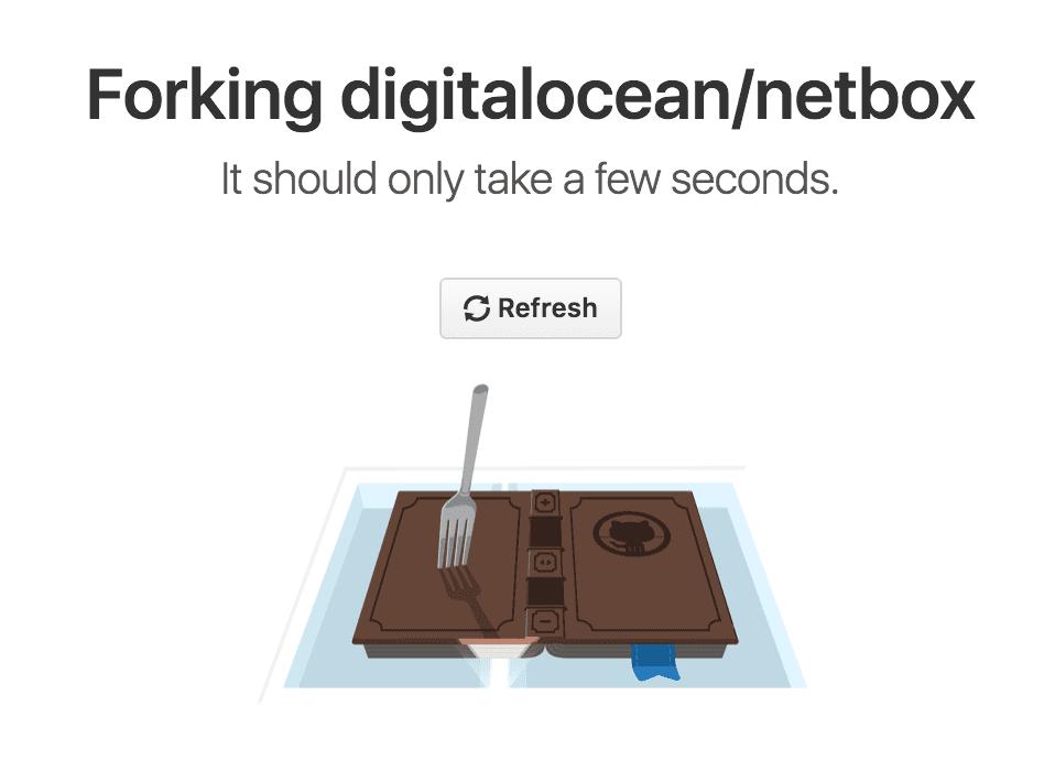 Forking on GitHub