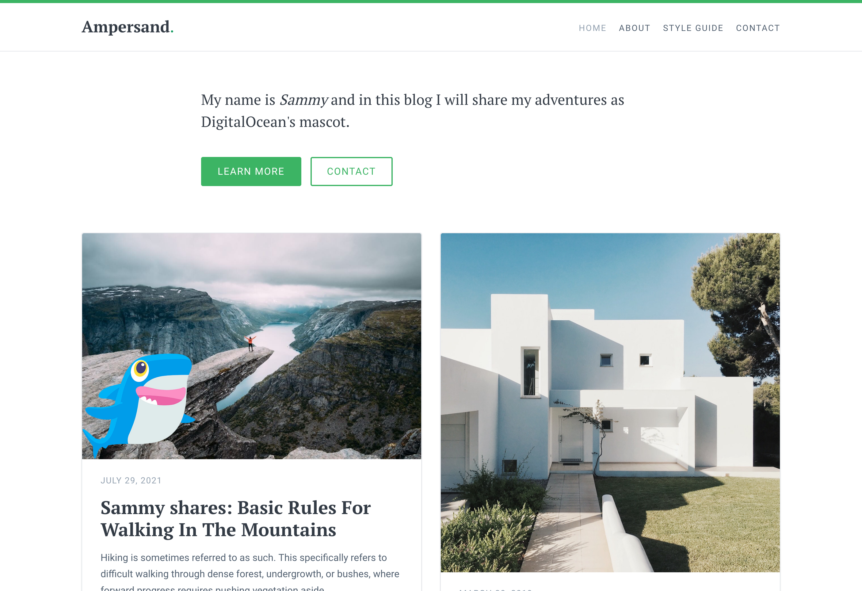 View your Stackbit site live on App Platform