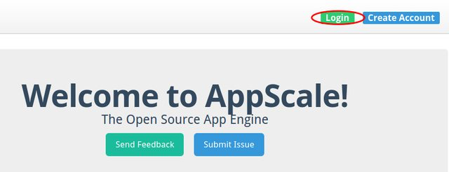 Log into AppScale