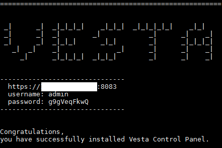 How To Install Vesta Control Panel on Ubuntu 12 04 LTS