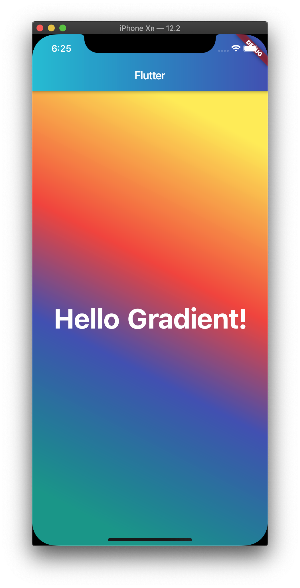 Flutter gradient with stops