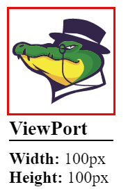 Height and Width 100