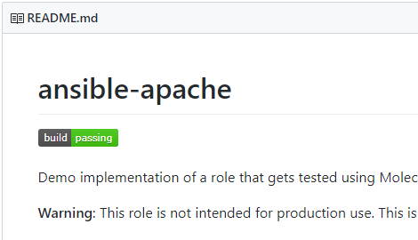 How To Implement Continuous Testing of Ansible Roles Using