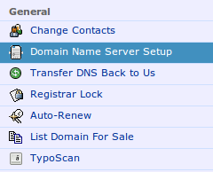 NameCheap domain name setup