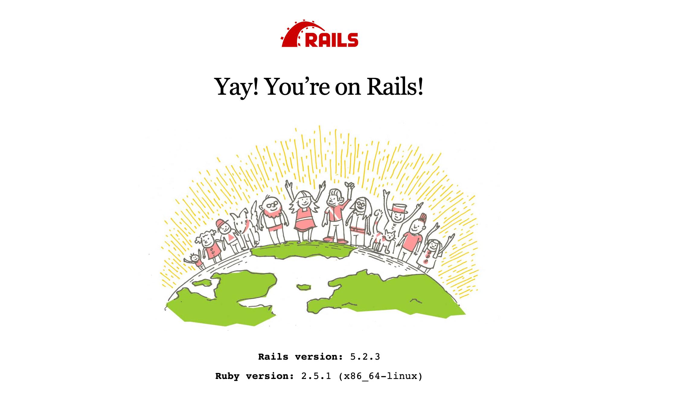 Rails Landing Page