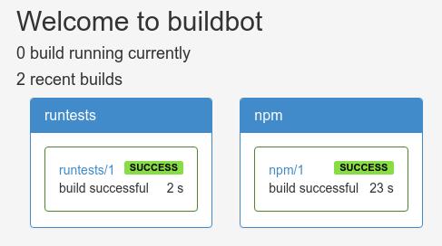 Buildbot build complete
