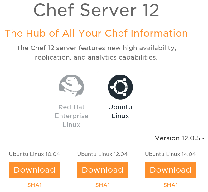 Chef server download