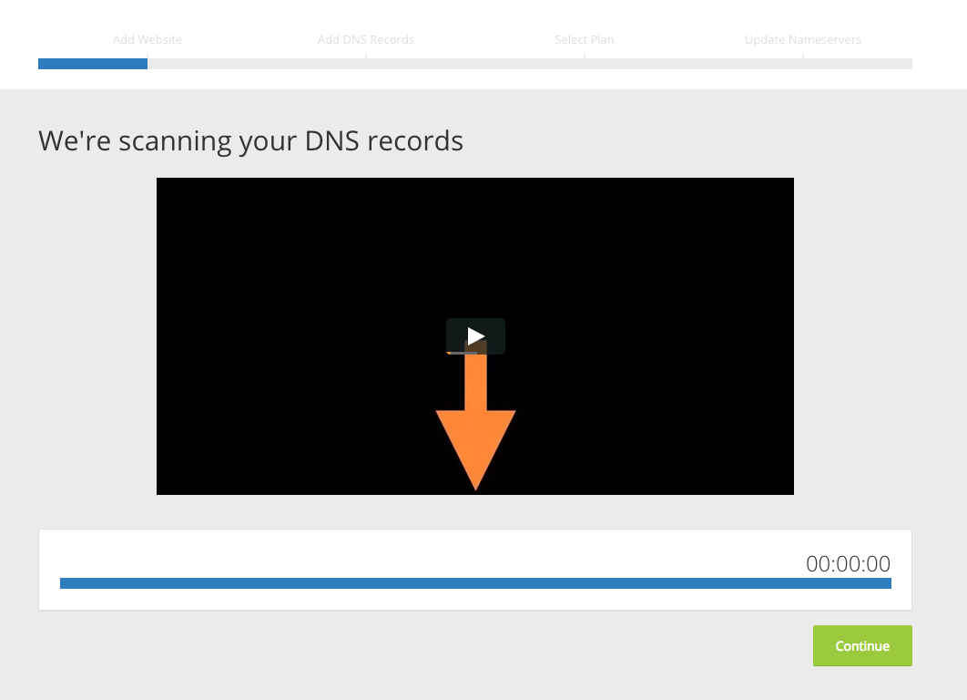 Scanning your DNS records