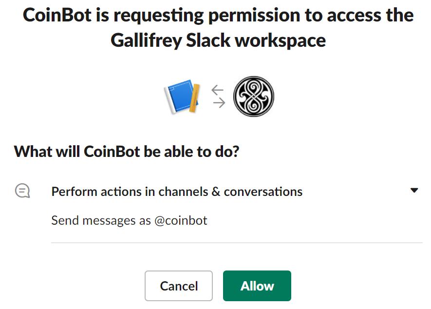 Instalar aplicación en el espacio de trabajo