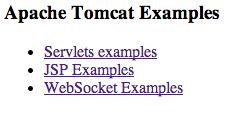 DigitalOcean Tomcat examples