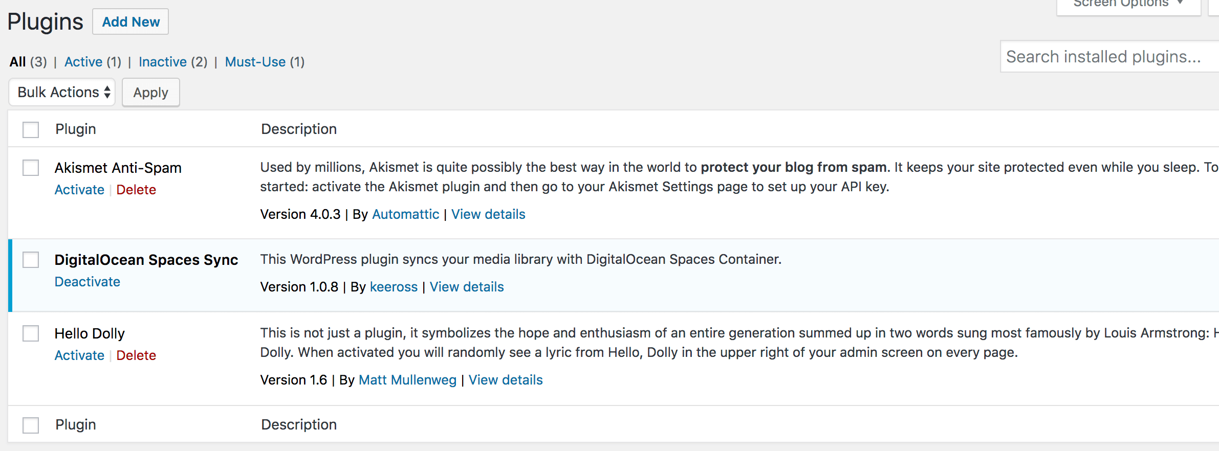 How To Store WordPress Assets on DigitalOcean Spaces | DigitalOcean