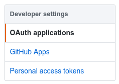 Drone OAuth applications