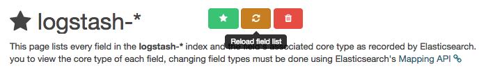 Reload Field List