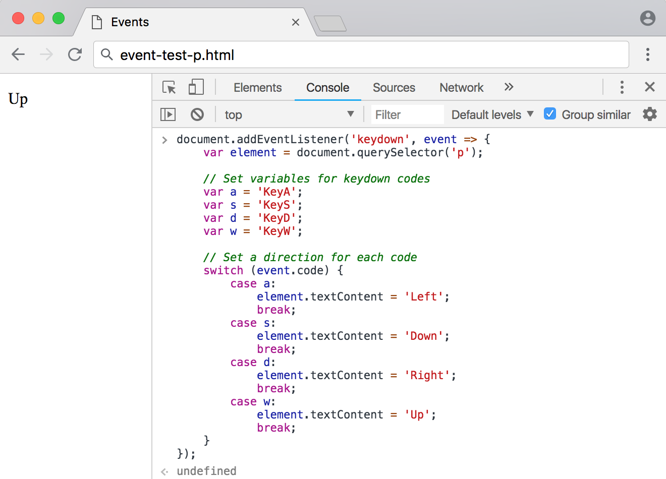 How To Make a Website Interactive with JavaScript Events | DigitalOcean