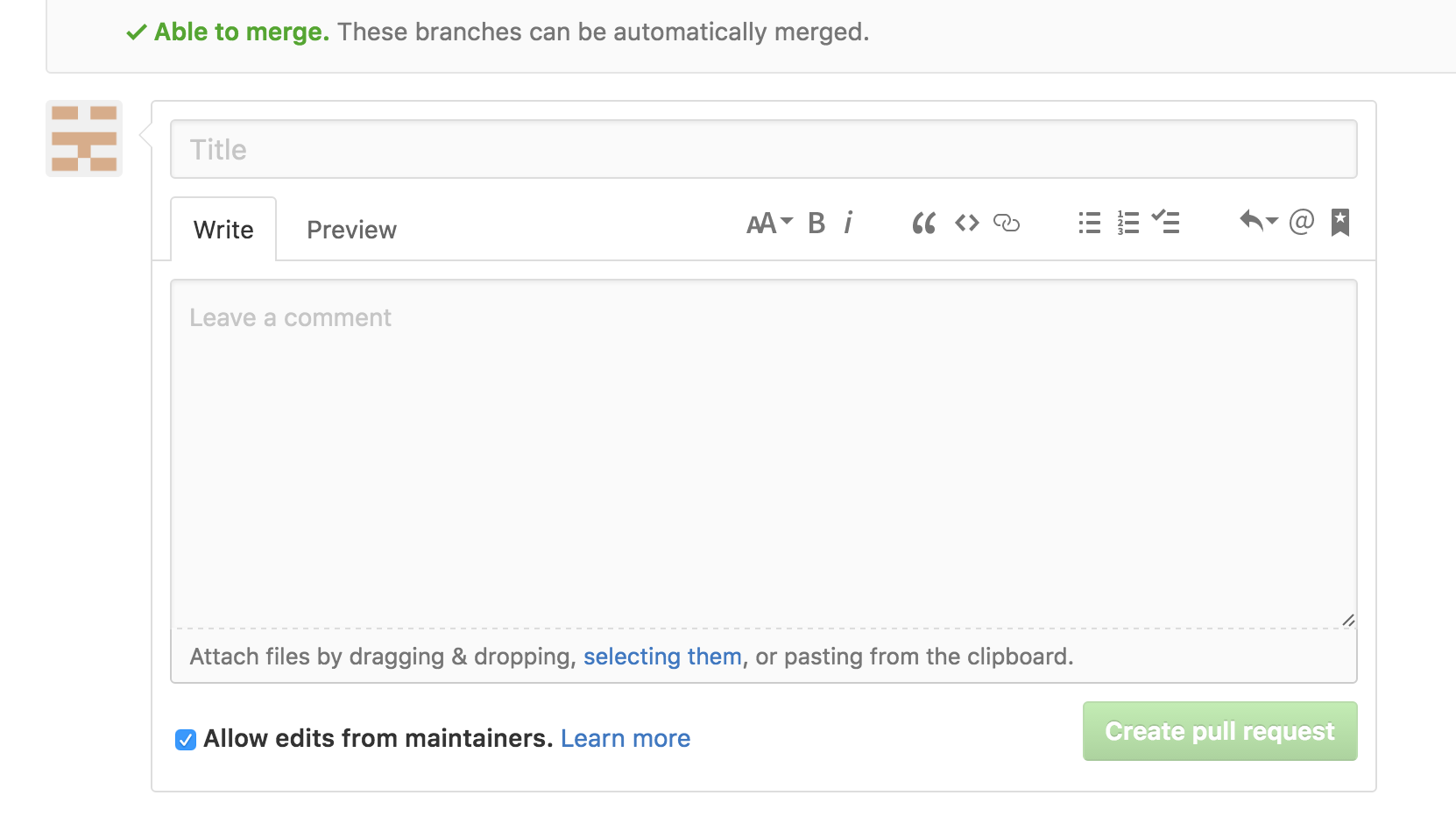How to Create a Pull Request on Github