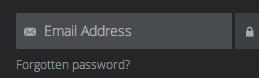 Ghost forgotten password