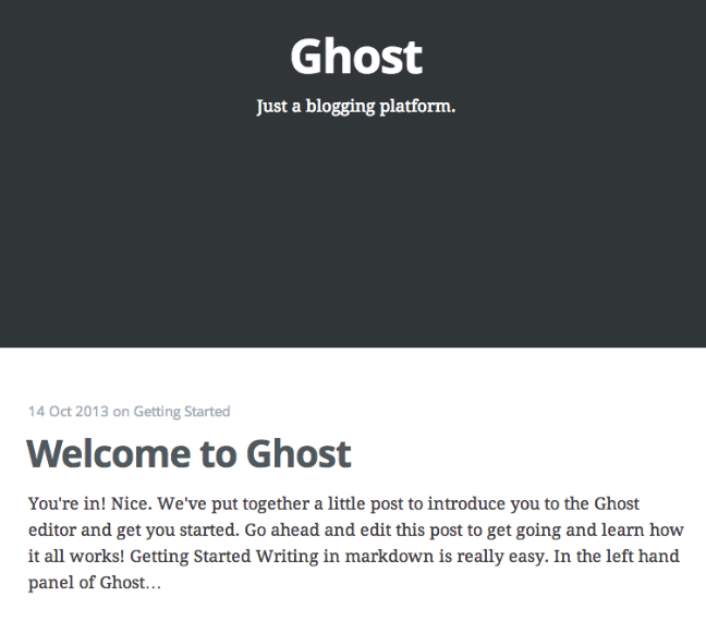 How To Serve Multiple Ghost Blogs on One VPS Using Nginx
