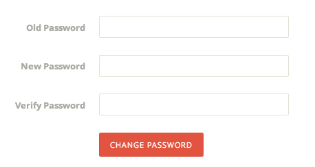 Ghost change password