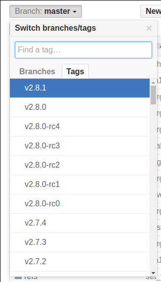 git change branch