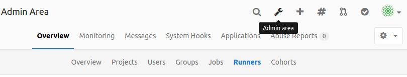 GitLab admin area icon