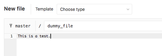 GitLab dummy file