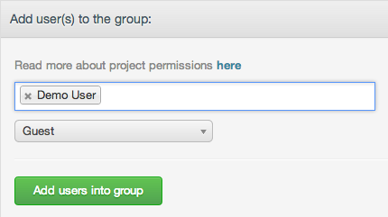 DigitalOcean GitLab add users to group