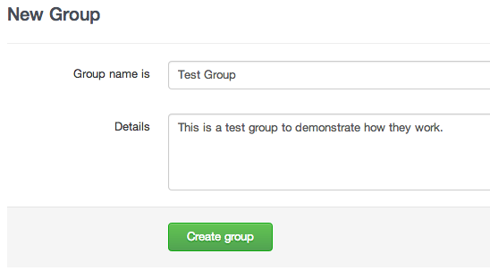 DigitalOcean GitLab create group screen