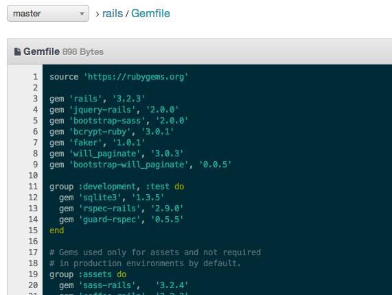 DigitalOcean GitLab gemfile