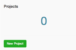 DigitalOcean GitLab new project button