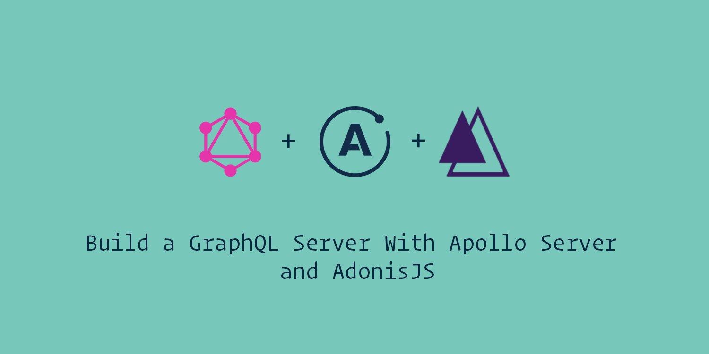 Image showing Adonis, GraphQL and Apollo Server Logos