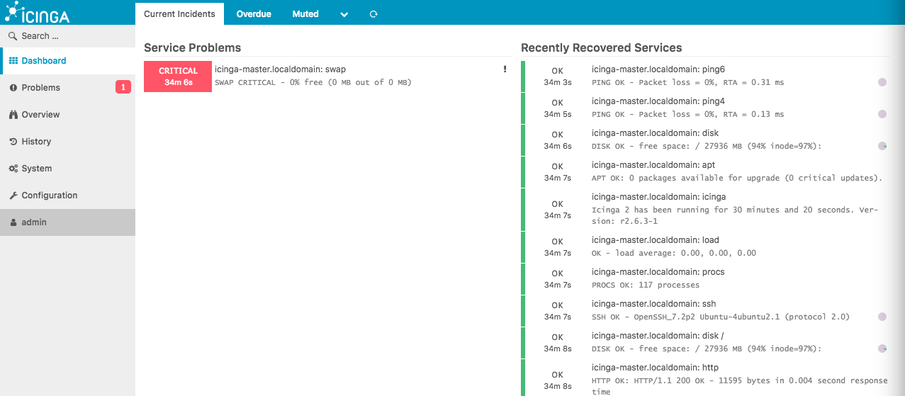 Icinga Web Interface