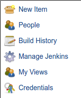 Jenkins credentials item