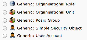 LDAP posix group