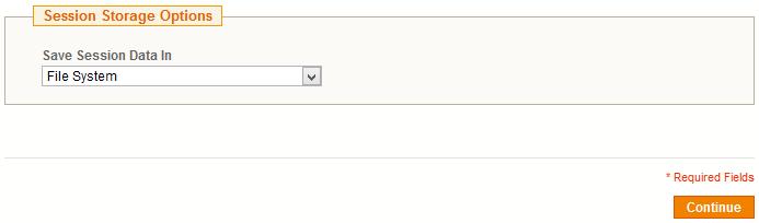 Magento Session Storage Options