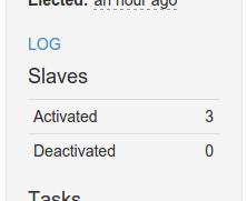 Mesos three slaves