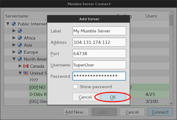 How To Install and Configure Mumble Server (Murmur) on
