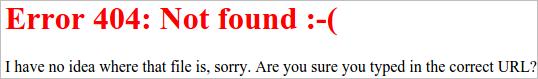 nginx custom 404
