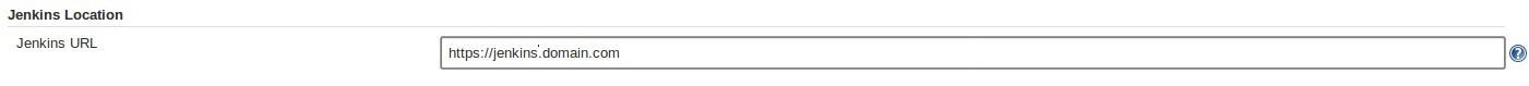 Jenkins URL