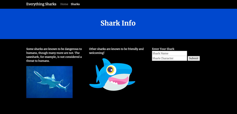 Shark Info Form