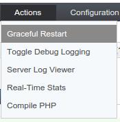 OpenLiteSpeed graceful restart