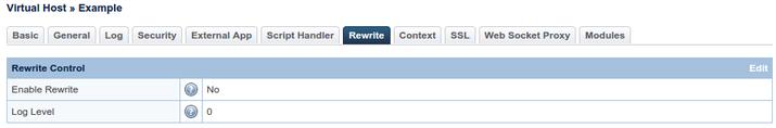 OpenLiteSpeed enable rewrites