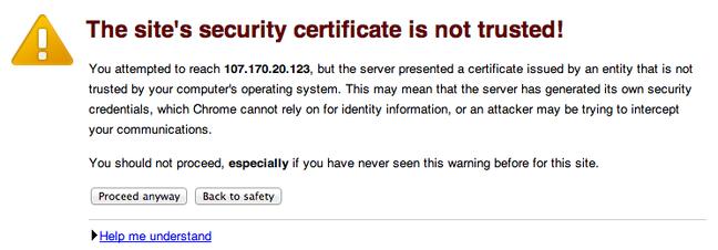 Aviso de segurança OpenVAS