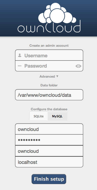 OwnCloud advanced setup