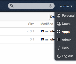 OwnCloud apps