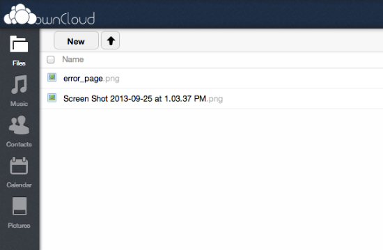 OwnCloud file comparison