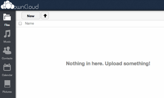 OwnCloud File Upload