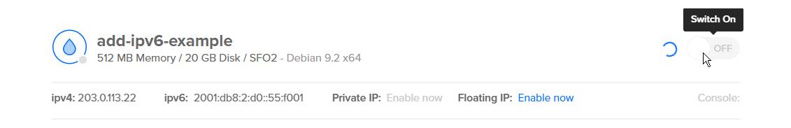 How To Enable IPv6 for DigitalOcean Droplets | DigitalOcean
