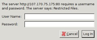 Вход в phpMyAdmin на настроенной базовой авторизацией
